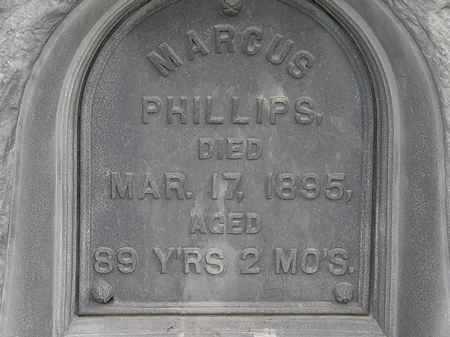 PHILLIPS, MARCUS - Morrow County, Ohio | MARCUS PHILLIPS - Ohio Gravestone Photos