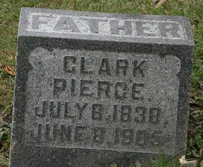 PIERCE, CLARK - Morrow County, Ohio | CLARK PIERCE - Ohio Gravestone Photos
