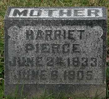 PIERCE, HARRIET - Morrow County, Ohio | HARRIET PIERCE - Ohio Gravestone Photos