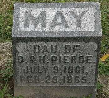 PIERCE, MAY - Morrow County, Ohio | MAY PIERCE - Ohio Gravestone Photos