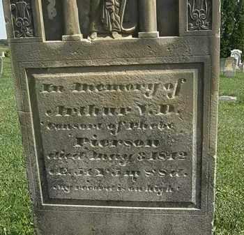 PIERSON, ARTHUR V. D, - Morrow County, Ohio | ARTHUR V. D, PIERSON - Ohio Gravestone Photos