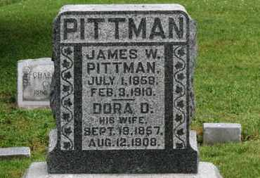 PITTMAN, DORA D. - Morrow County, Ohio | DORA D. PITTMAN - Ohio Gravestone Photos