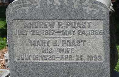 POAST, MARY J. - Morrow County, Ohio | MARY J. POAST - Ohio Gravestone Photos