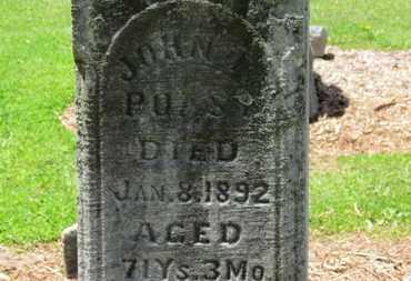 POAST, JOHN T. - Morrow County, Ohio | JOHN T. POAST - Ohio Gravestone Photos