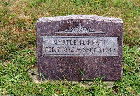 PRATT, MYRTLE MAY - Morrow County, Ohio | MYRTLE MAY PRATT - Ohio Gravestone Photos