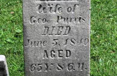 PURVIS, GEO. - Morrow County, Ohio | GEO. PURVIS - Ohio Gravestone Photos