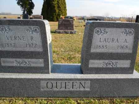 QUEEN, LAURA A - Morrow County, Ohio | LAURA A QUEEN - Ohio Gravestone Photos