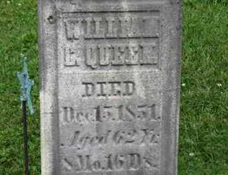 QUEEN, WILLIAM C. - Morrow County, Ohio | WILLIAM C. QUEEN - Ohio Gravestone Photos