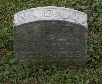 RANDOLPH, NADIA D. - Morrow County, Ohio | NADIA D. RANDOLPH - Ohio Gravestone Photos