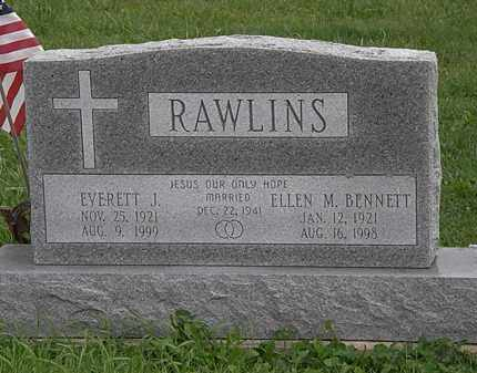 RAWLINS, EVERETT J. - Morrow County, Ohio | EVERETT J. RAWLINS - Ohio Gravestone Photos