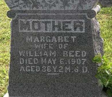 REED, MARGARET - Morrow County, Ohio | MARGARET REED - Ohio Gravestone Photos