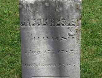 RESLEY, JACOB - Morrow County, Ohio | JACOB RESLEY - Ohio Gravestone Photos