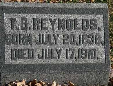 REYNOLDS, T.B. - Morrow County, Ohio | T.B. REYNOLDS - Ohio Gravestone Photos