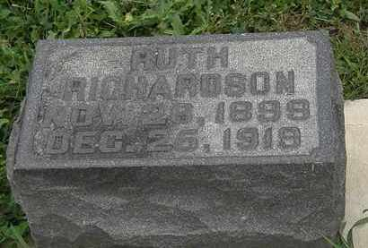 RICHARDSON, RUTH - Morrow County, Ohio | RUTH RICHARDSON - Ohio Gravestone Photos
