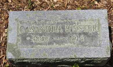RIESTER, CASANDRA - Morrow County, Ohio | CASANDRA RIESTER - Ohio Gravestone Photos