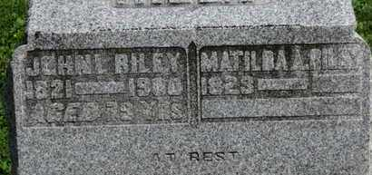 RILEY, MATILDA A. - Morrow County, Ohio | MATILDA A. RILEY - Ohio Gravestone Photos