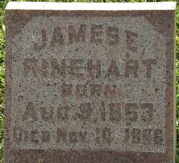RINEHART, JAMES E. - Morrow County, Ohio | JAMES E. RINEHART - Ohio Gravestone Photos