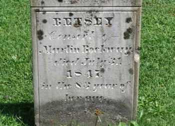 ROCKWAY, BETSEY - Morrow County, Ohio | BETSEY ROCKWAY - Ohio Gravestone Photos