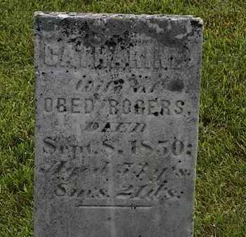 ROGERS, CATHARINE - Morrow County, Ohio | CATHARINE ROGERS - Ohio Gravestone Photos