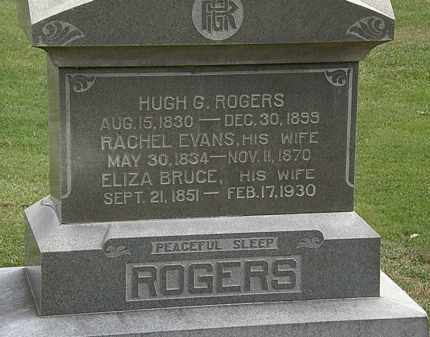 ROGERS, HUGH G. - Morrow County, Ohio | HUGH G. ROGERS - Ohio Gravestone Photos