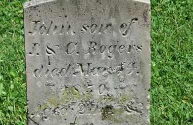 ROGERS, JOHN - Morrow County, Ohio | JOHN ROGERS - Ohio Gravestone Photos