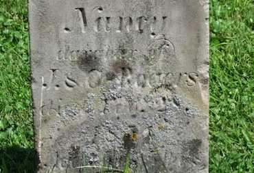 ROGERS, NANCY - Morrow County, Ohio | NANCY ROGERS - Ohio Gravestone Photos
