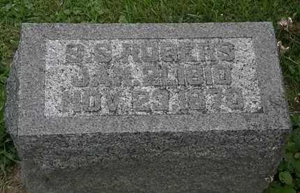 ROGERS, S. S. - Morrow County, Ohio | S. S. ROGERS - Ohio Gravestone Photos