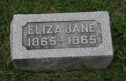 ROLOSON, ELIZA JANE - Morrow County, Ohio | ELIZA JANE ROLOSON - Ohio Gravestone Photos