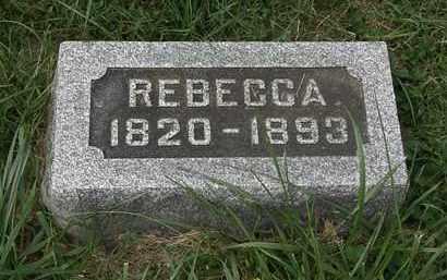 ROLOSON, REBECCA - Morrow County, Ohio | REBECCA ROLOSON - Ohio Gravestone Photos