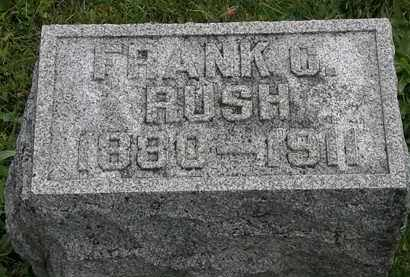 RUSH, FRANK C. - Morrow County, Ohio | FRANK C. RUSH - Ohio Gravestone Photos