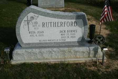 RUTHERFORD, RETA JEAN - Morrow County, Ohio | RETA JEAN RUTHERFORD - Ohio Gravestone Photos