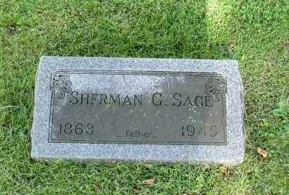 SAGE, SHERMAN GRANT - Morrow County, Ohio | SHERMAN GRANT SAGE - Ohio Gravestone Photos