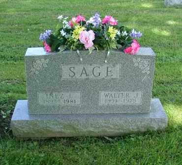 CARIS SAGE, INEZ L - Morrow County, Ohio | INEZ L CARIS SAGE - Ohio Gravestone Photos