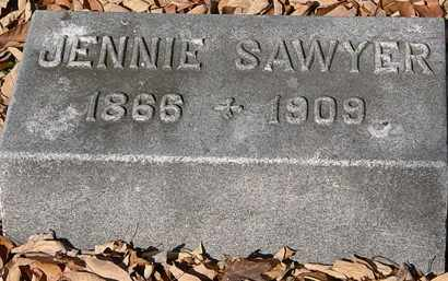 SAWYER, JENNIE - Morrow County, Ohio | JENNIE SAWYER - Ohio Gravestone Photos