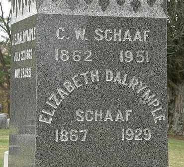 SCHAFF, ELIZABETH - Morrow County, Ohio | ELIZABETH SCHAFF - Ohio Gravestone Photos