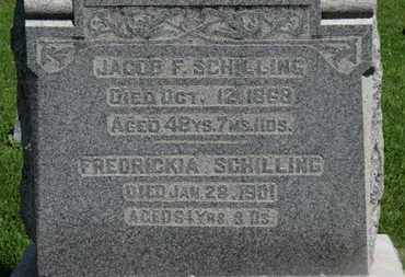 SCHILLING, FREDRICKIA - Morrow County, Ohio | FREDRICKIA SCHILLING - Ohio Gravestone Photos