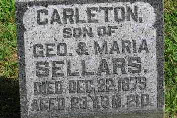 SELLARS, CARLETON - Morrow County, Ohio | CARLETON SELLARS - Ohio Gravestone Photos