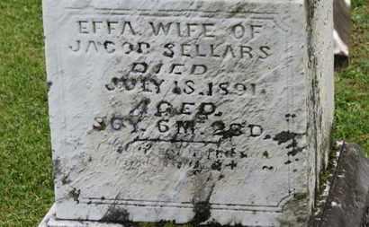 SELLARS, EFFA - Morrow County, Ohio | EFFA SELLARS - Ohio Gravestone Photos