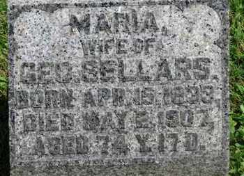 SELLARS, MARIA - Morrow County, Ohio | MARIA SELLARS - Ohio Gravestone Photos
