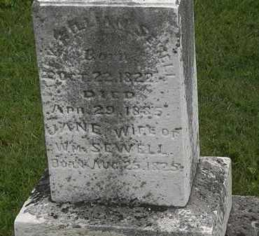 SEWELL, WILLIAM - Morrow County, Ohio | WILLIAM SEWELL - Ohio Gravestone Photos