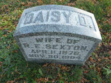 SEXTON, DAISY D - Morrow County, Ohio | DAISY D SEXTON - Ohio Gravestone Photos