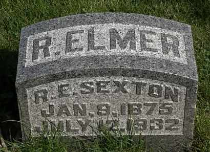 SEXTON, R. ELMER - Morrow County, Ohio | R. ELMER SEXTON - Ohio Gravestone Photos