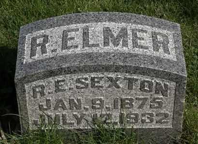 SEXTON, R. ELMER - Morrow County, Ohio | R. ELMER SEXTON - Ohio Gravestone Photos