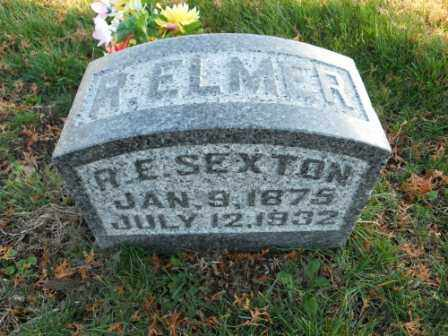 SEXTON, R ELMER - Morrow County, Ohio | R ELMER SEXTON - Ohio Gravestone Photos