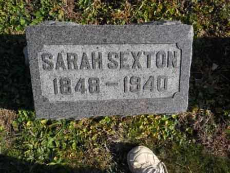 SEXTON, SARAH - Morrow County, Ohio | SARAH SEXTON - Ohio Gravestone Photos
