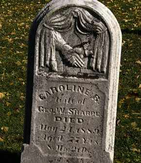 SHARPE, CAROLINE R. - Morrow County, Ohio | CAROLINE R. SHARPE - Ohio Gravestone Photos