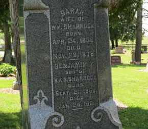 SHARROCK, BENJAMIN M. - Morrow County, Ohio | BENJAMIN M. SHARROCK - Ohio Gravestone Photos
