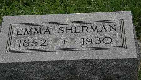 SHERMAN, EMMA - Morrow County, Ohio | EMMA SHERMAN - Ohio Gravestone Photos