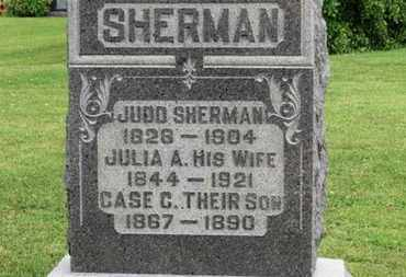 SHERMAN, JULIA A. - Morrow County, Ohio | JULIA A. SHERMAN - Ohio Gravestone Photos