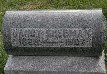 SHERMAN, NANCY - Morrow County, Ohio | NANCY SHERMAN - Ohio Gravestone Photos